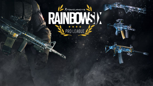 Black Ice Pro League weapon skins anywhere   ? : Rainbow6