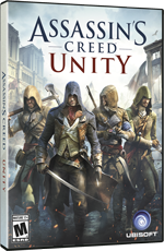 Assassin's Creed Unity Boxart for PC, Xbox One, and PS4