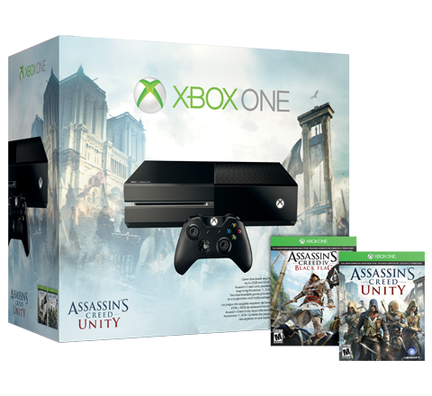 Assassin's Creed Unity Xbox One Bundle