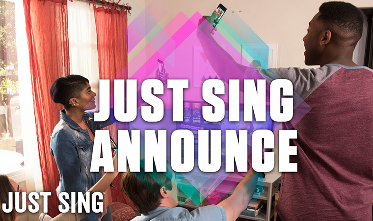 Just Sing Announce Trailer