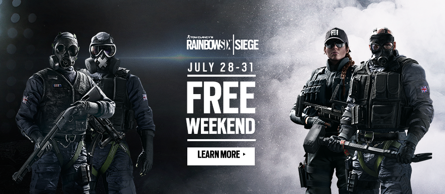 Free Weekend on PC and Xbox One! | Rainbow Six® Siege Game ... Rainbow Six Siege Free Download