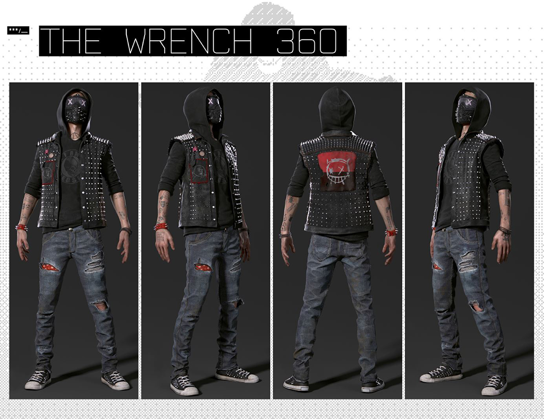 Wrench Watch Dogs 2 Fanart: Watch Dogs 2 Wrench Cosplay Guide