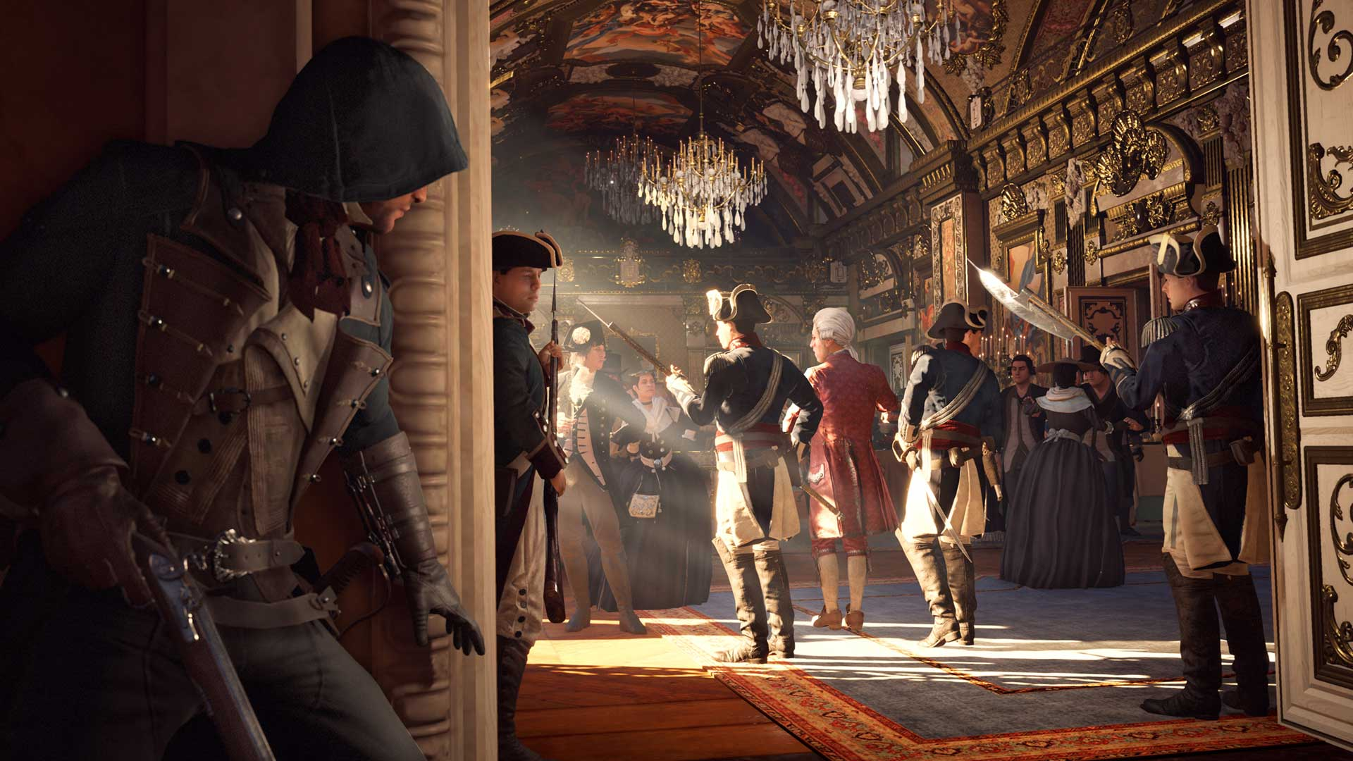 Assassin's Creed Unity Multilenguaje ESPAÑOL PC + Update v1.5 (RELOADED) + REPACK 10 DVD5 (JPW) 3