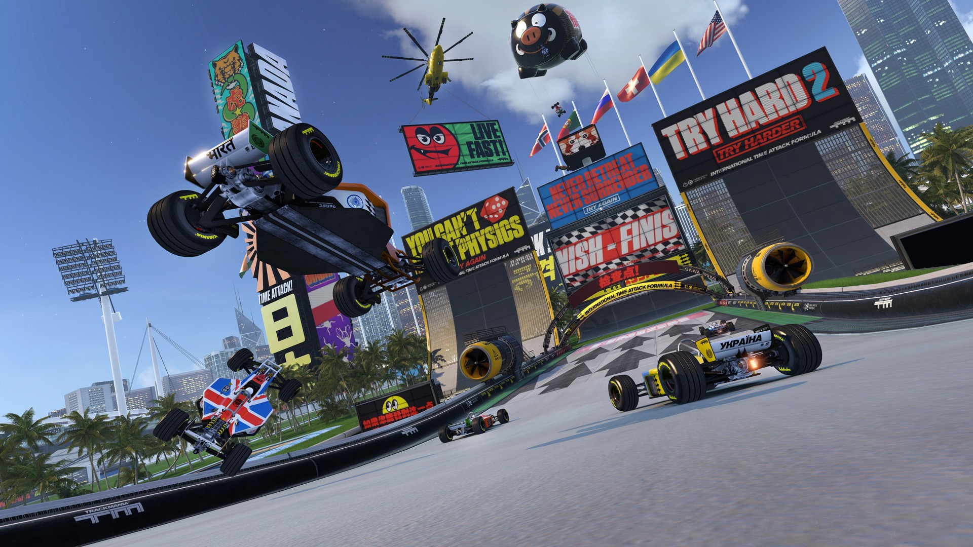 What's Hot                     4 ENVIRONMENTS, 4 KINDS OF GAMEPLAY                 PLAY TRACKMANIA TURBO IN VIRTUAL REALITY!                                                       Buy Now                                                                                                                                        News And Noteworthy                                                                                                    Media                                                                                                 You May Also Like                                      Connect With Ubisoft