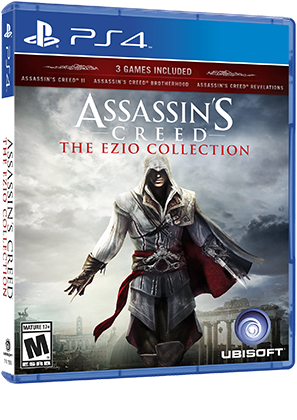 Resultat d'imatges de assassins creed ezio collection