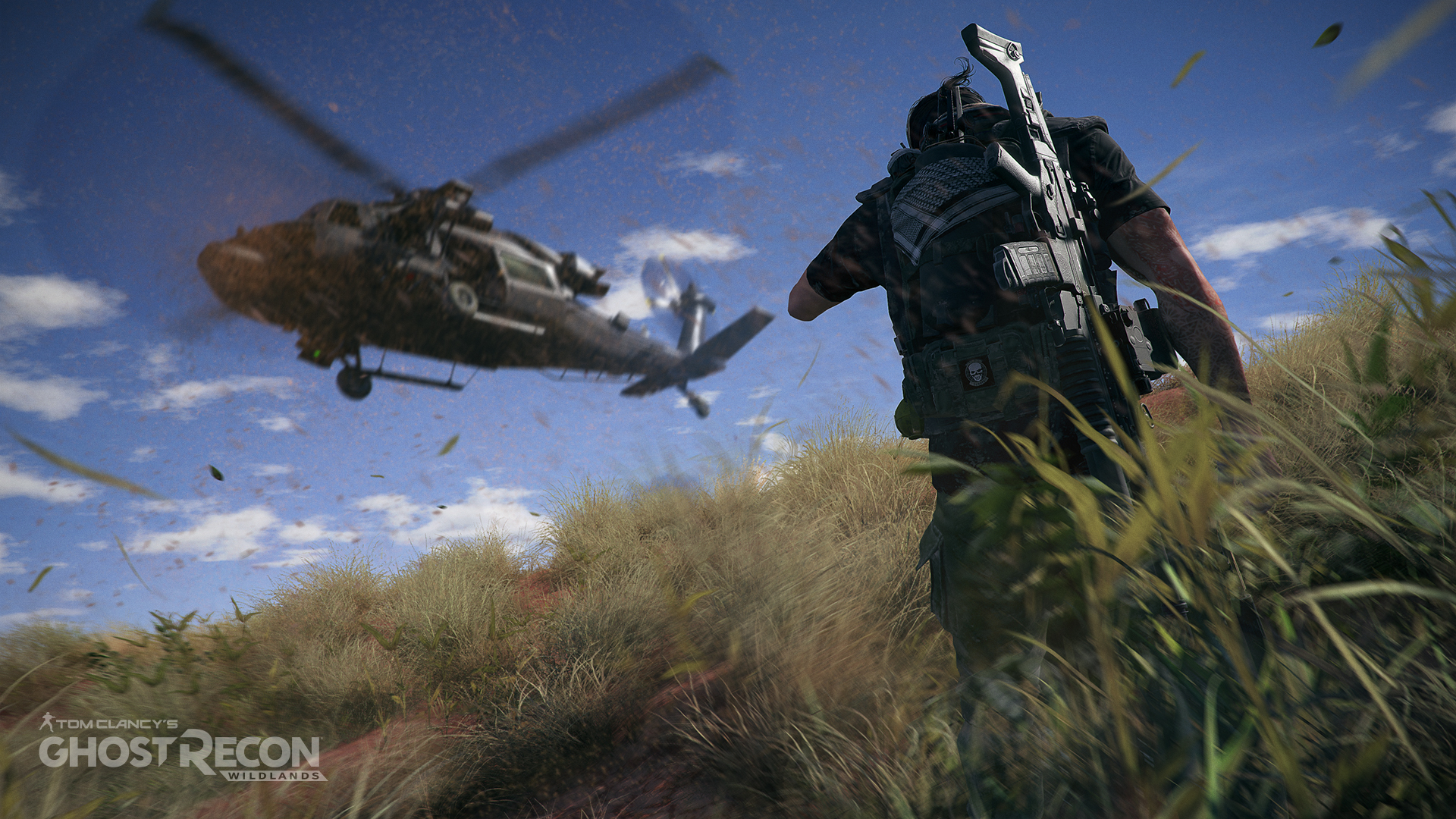 Ghost Recon Wildlands Helicóptero